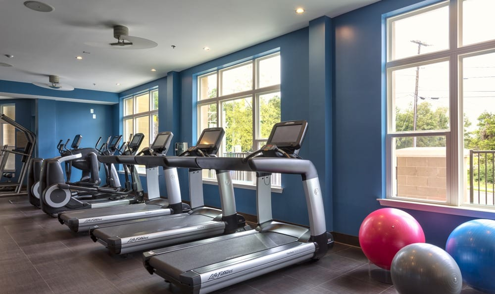 Take advantage of fitness center at Berkshire Main Street