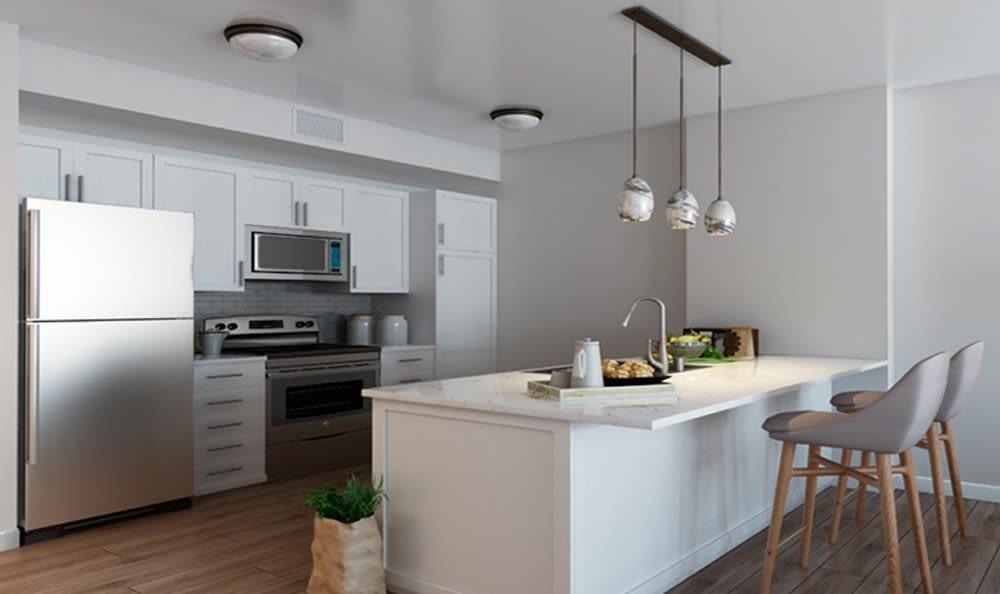 Skye at Laguna Niguel has beautiful apartment kitchens