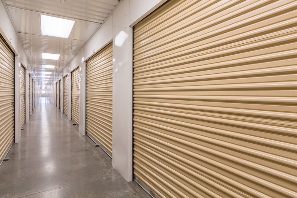 Interior Storage Space at Express Storage