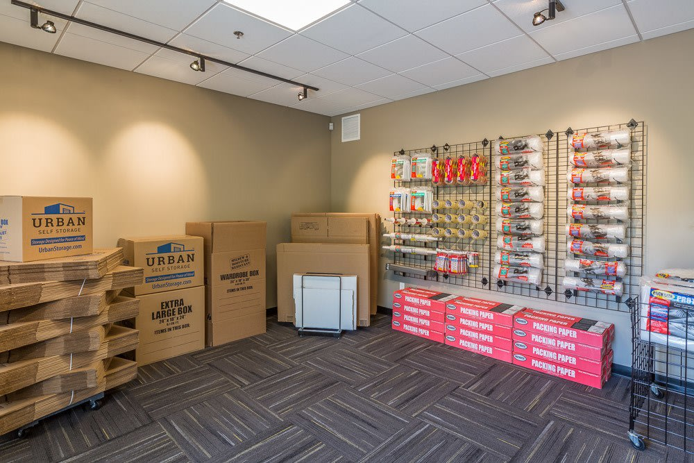 Redmond Ridge Self Storage has packing supplies for sale