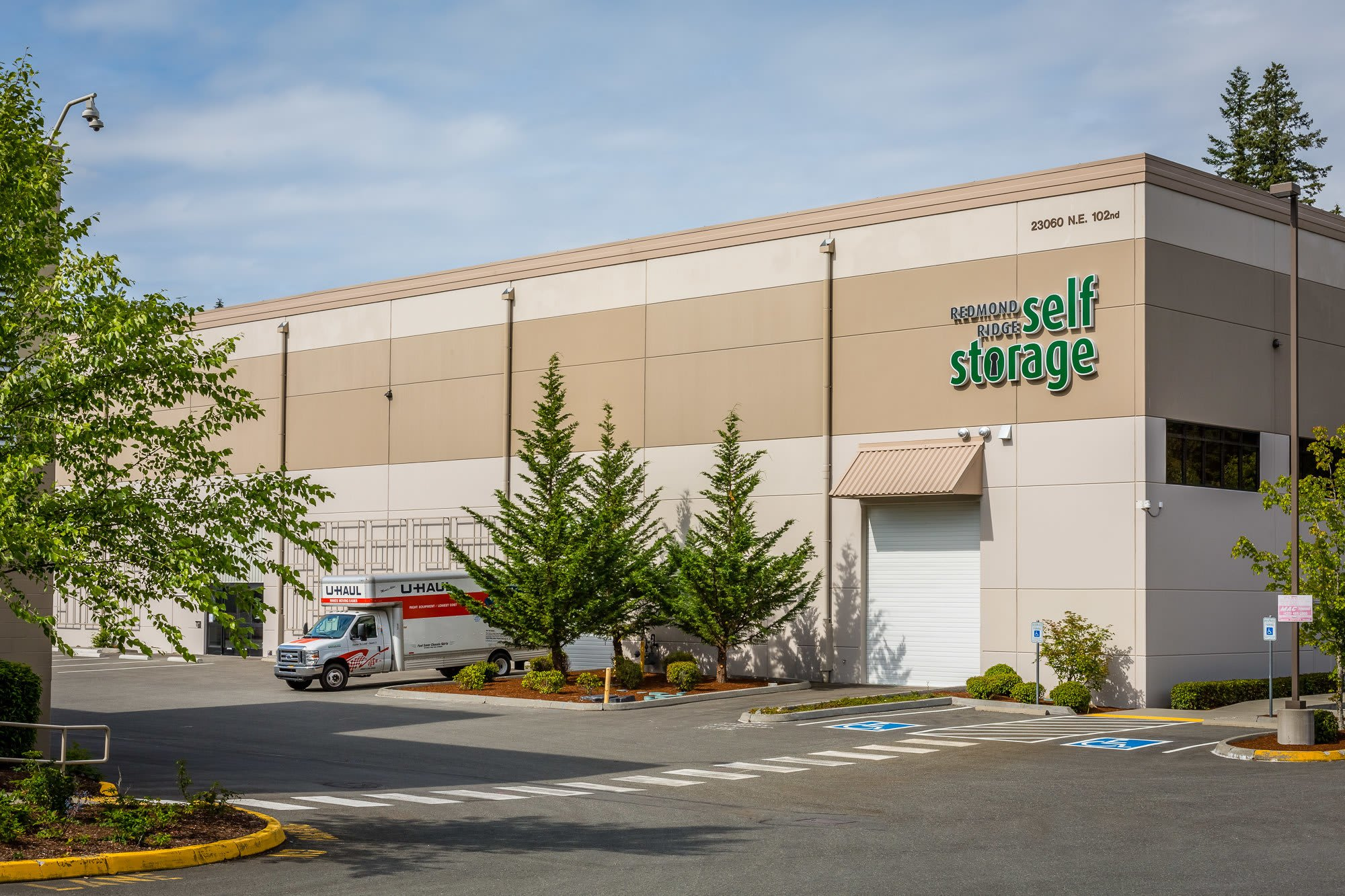 Self storage in Redmond, WA