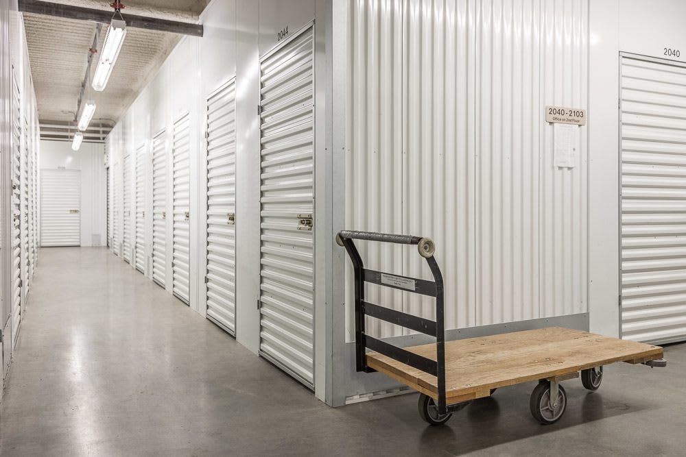 Bright and spacious self storage units in Seattle, WA.