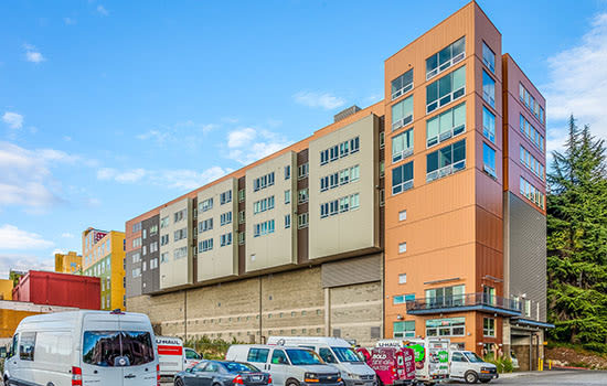 Phase I Urban Storage Facility Features: