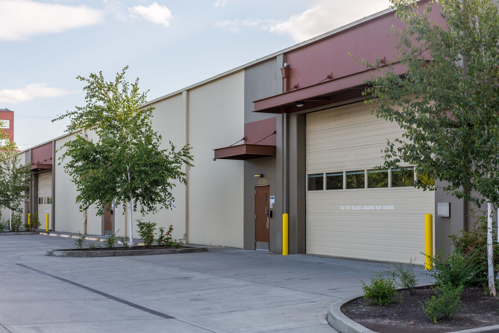 Self storage units in the South Waterfront neighborhood of Portland, Oregon