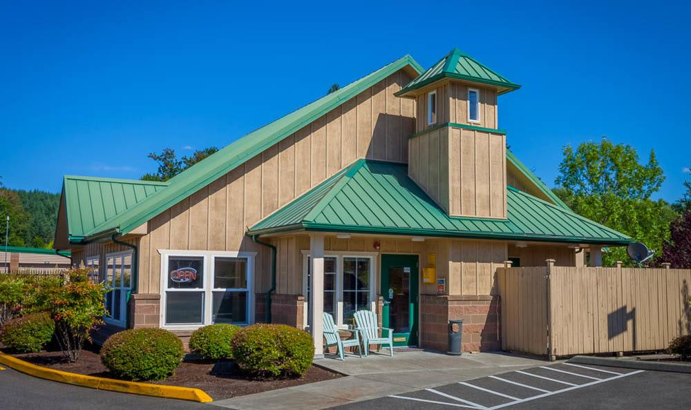 Exterior of our office in Maple Valley, WA.