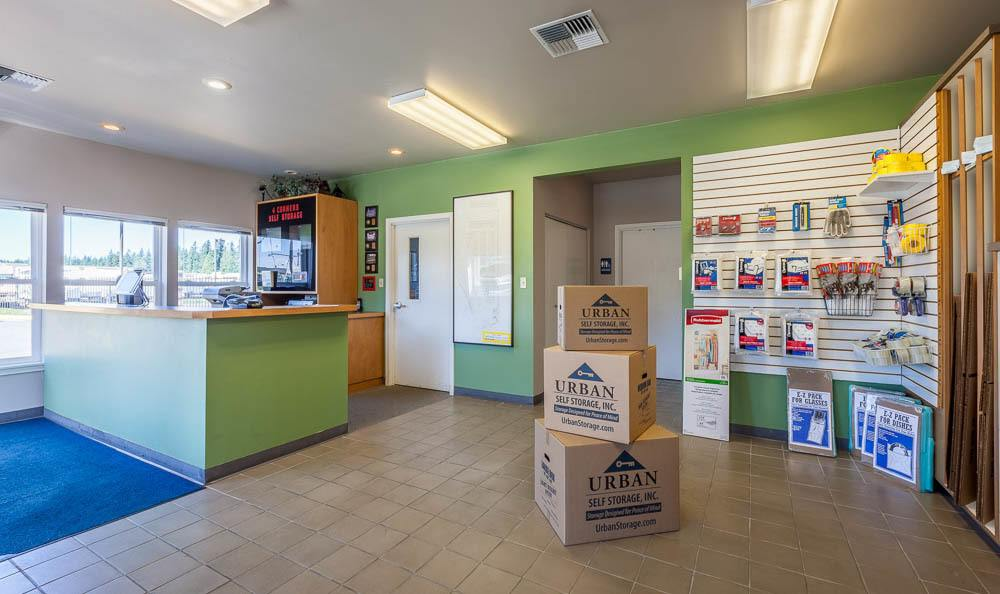 Self storage facility office in Maple Valley