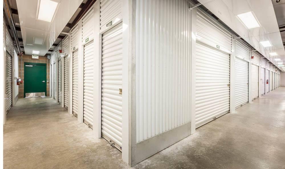 Interior Self Storage Units In Maple Valley, Washington.
