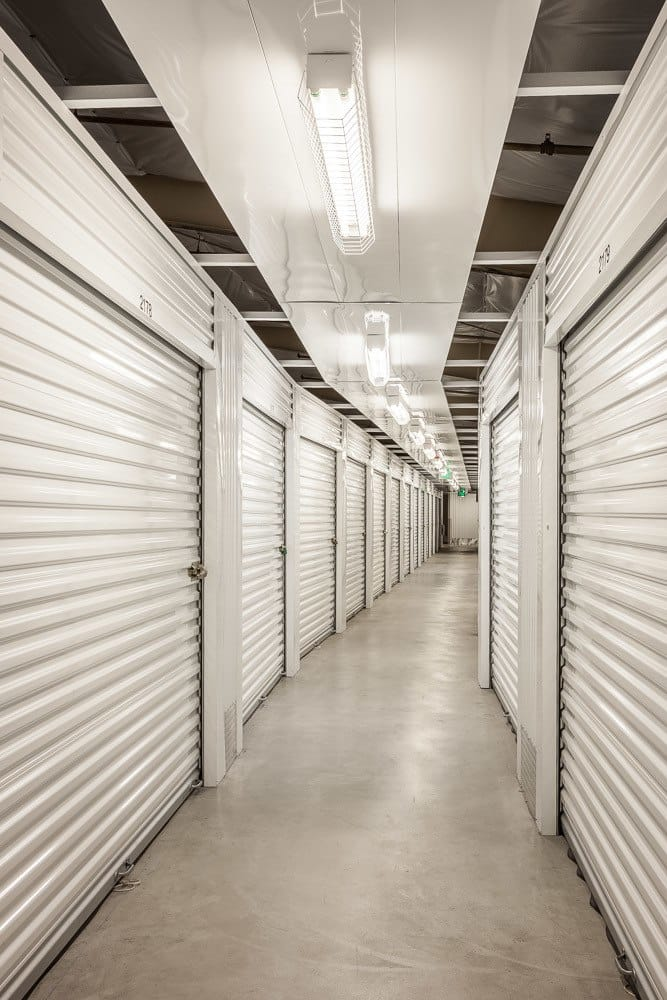 Interior storage units at our facility in Kirkland, Washington.