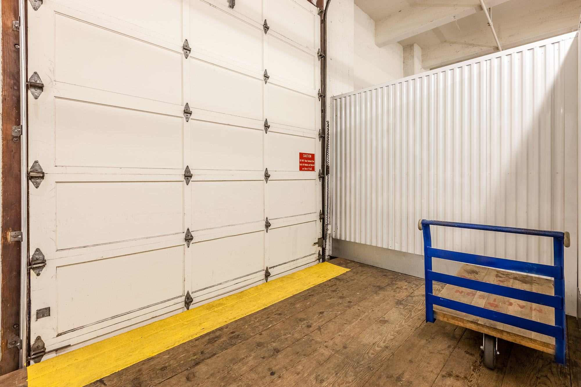 Front loading zone at our facility in Seattle, WA.