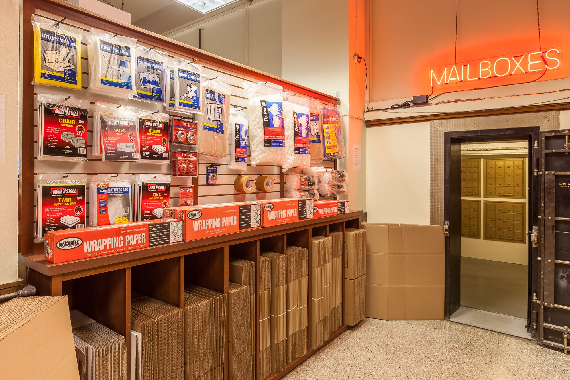 You'll have all of the packing materials you need at our storage facility in Seattle, WA.