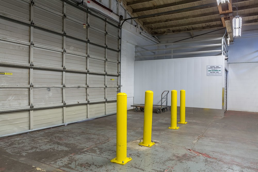 Spacious interior storage units in Portland Oregon.