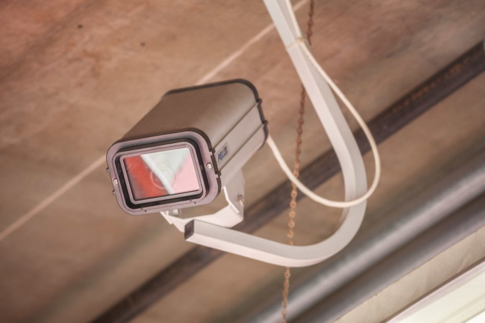 Security cameras throughout our self storage facility in Seattle, Washington
