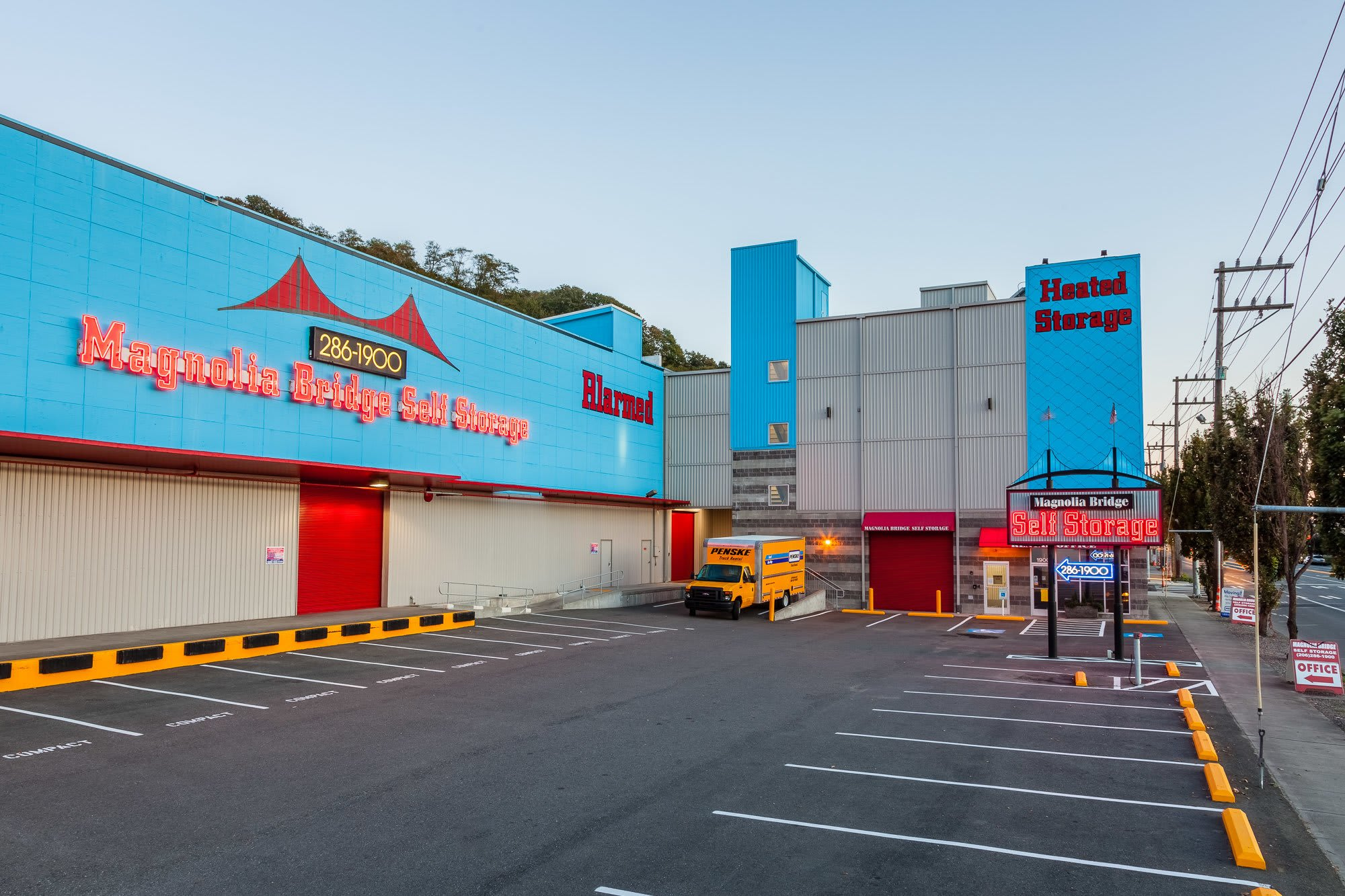 High Quality Exterior Of Self Storage Facility In Seattle, Washington