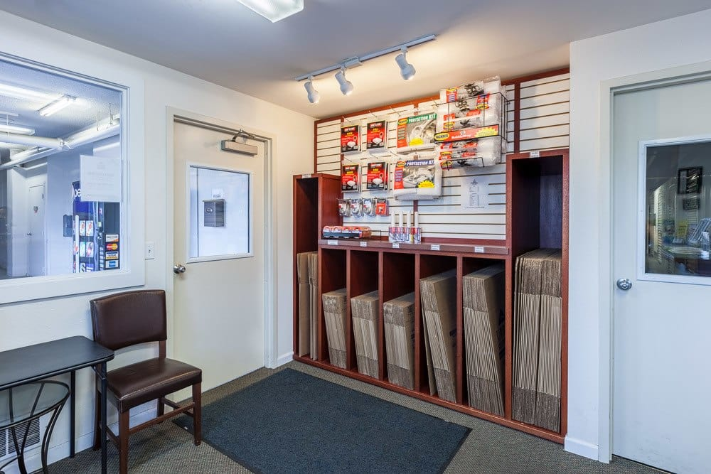 We offer tons of packing supplies to keep your storage safe in Seattle, WA.