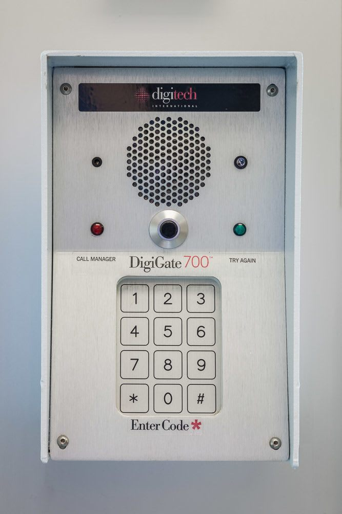 Interior keypads help to keep your storage extra safe in Bellevue, Washington.