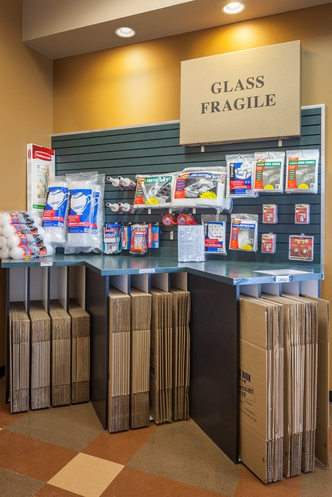 We offer a wide array of supplies at our storage facility in Sammamish, WA.