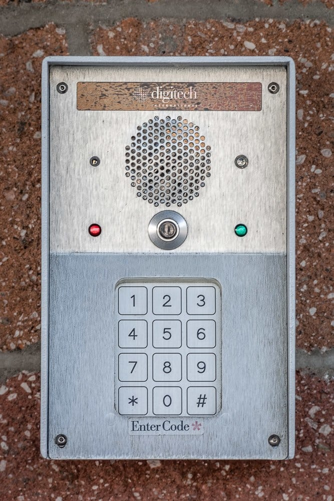Secure keypad access to units at our self storage facility in Sammamish, WA.