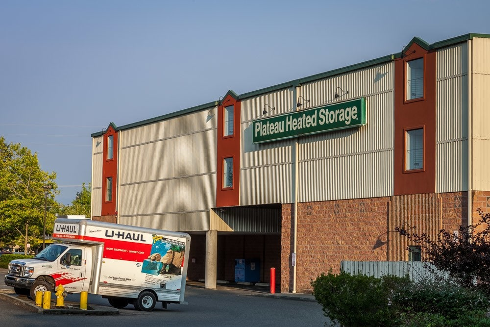 Exterior View Of Our Self Storage Facility In Sammamish, Washington.
