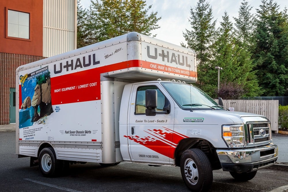 Moving trucks available in Sammamish, WA.