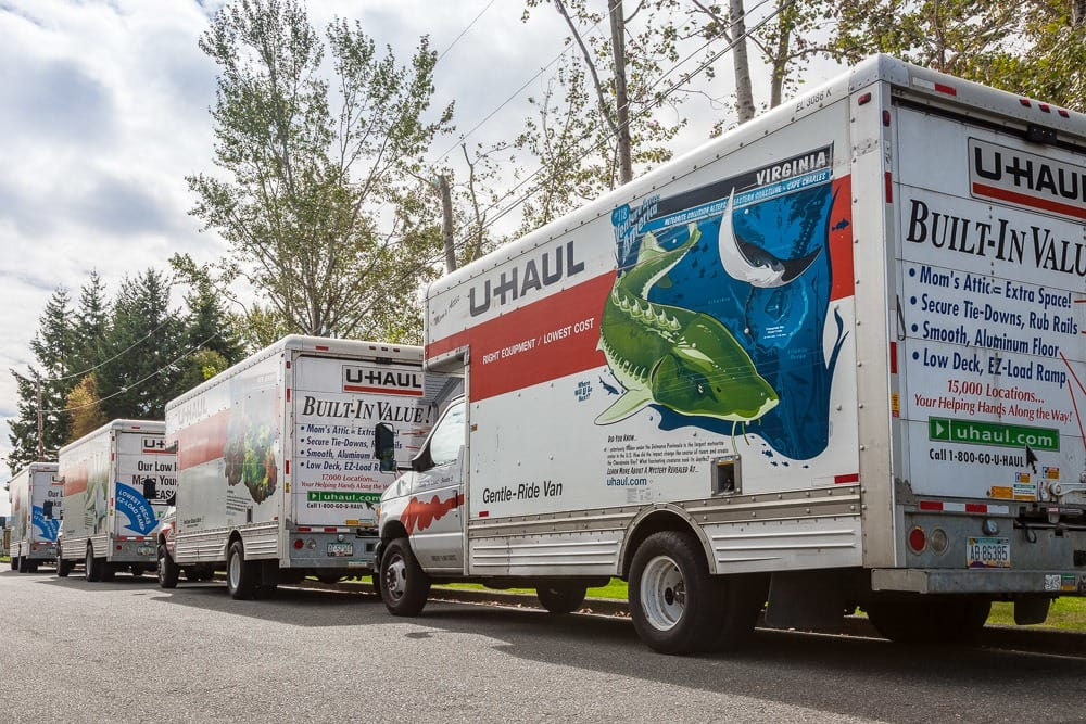 We offer truck rentals to make your storage solutions a breeze in Bellingham, WA.