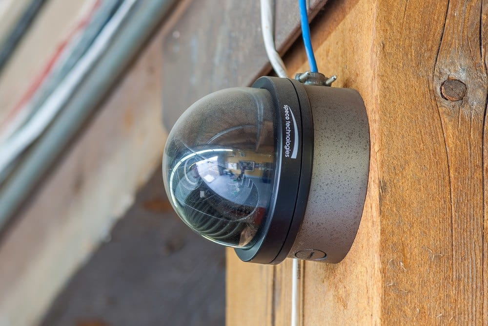 Security cameras keep your possessions safe at our self storage facility in Tacoma, WA.