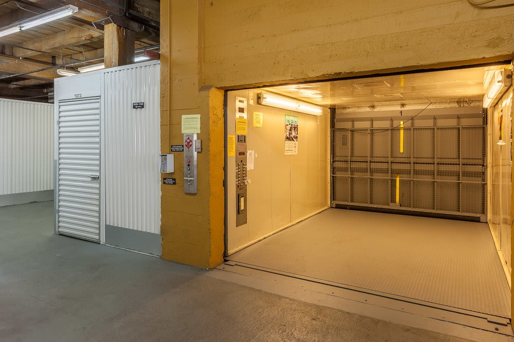 We have a massive access elevator to make storage simple in Tacoma, WA.