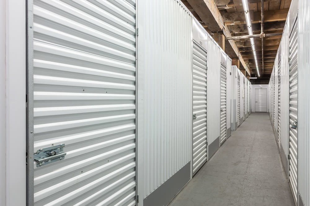 Spacious and easily accessible interior storage units in our facility in Tacoma, WA.