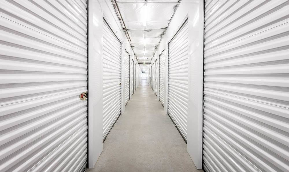 Clean inside units at the self storage facility in Renton