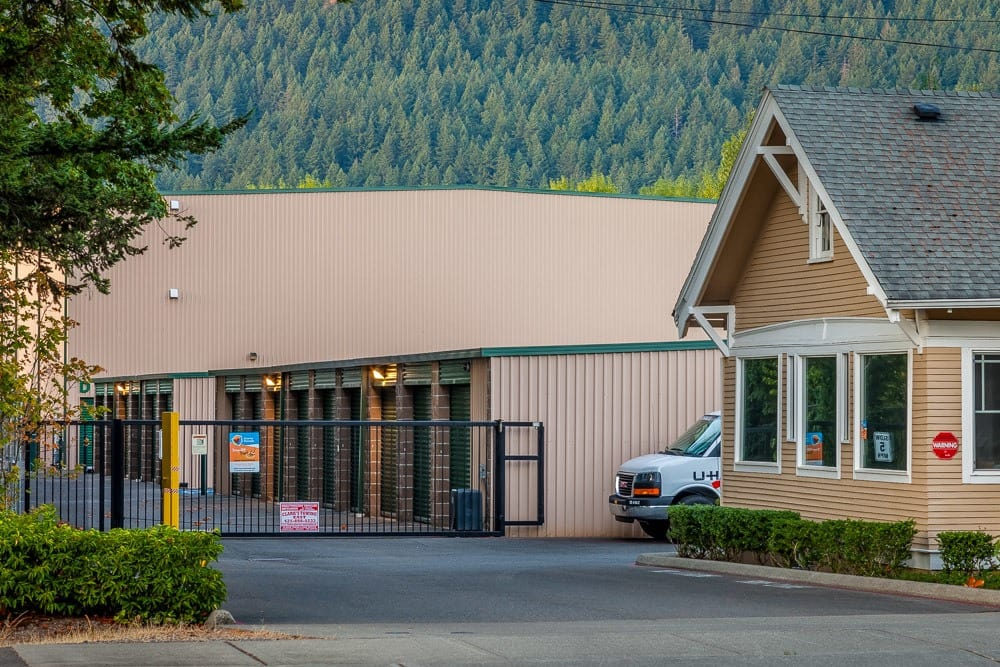 Easy to location self storage in North Bend, WA