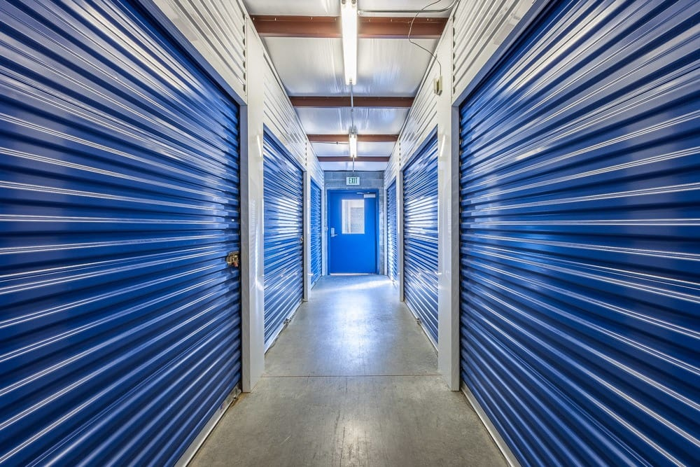 Interior self storage units in Snohomish, WA