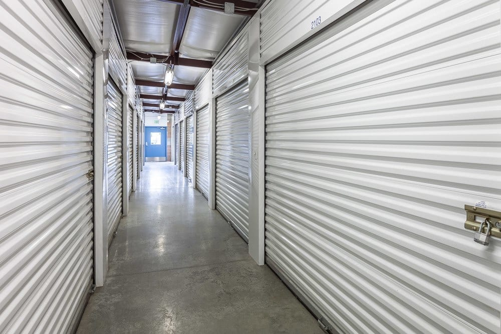 Interior self storage units located in Lynden, WA