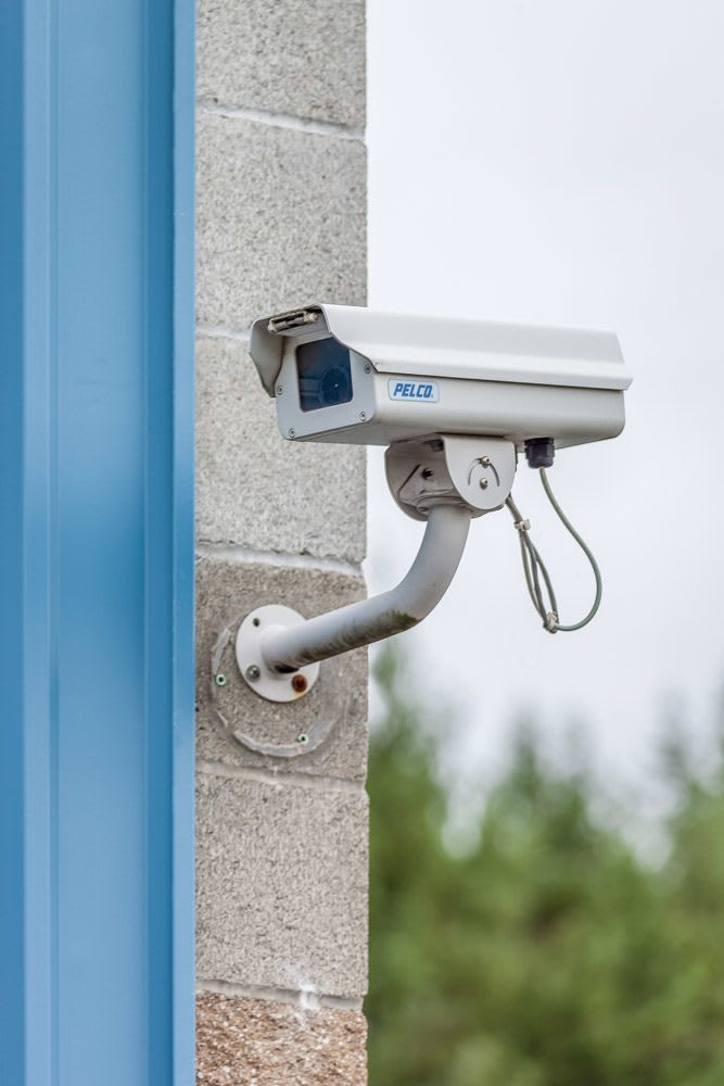 Security cameras at self storage in DuPont, WA