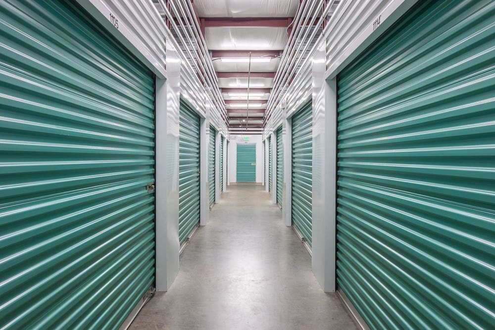 Interior self storage units in Bainbridge Island, WA