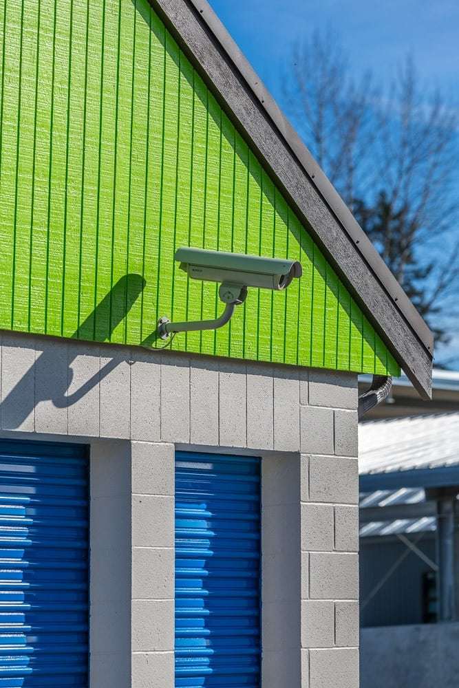Exterior self storage security cameras in Kenmore, WA