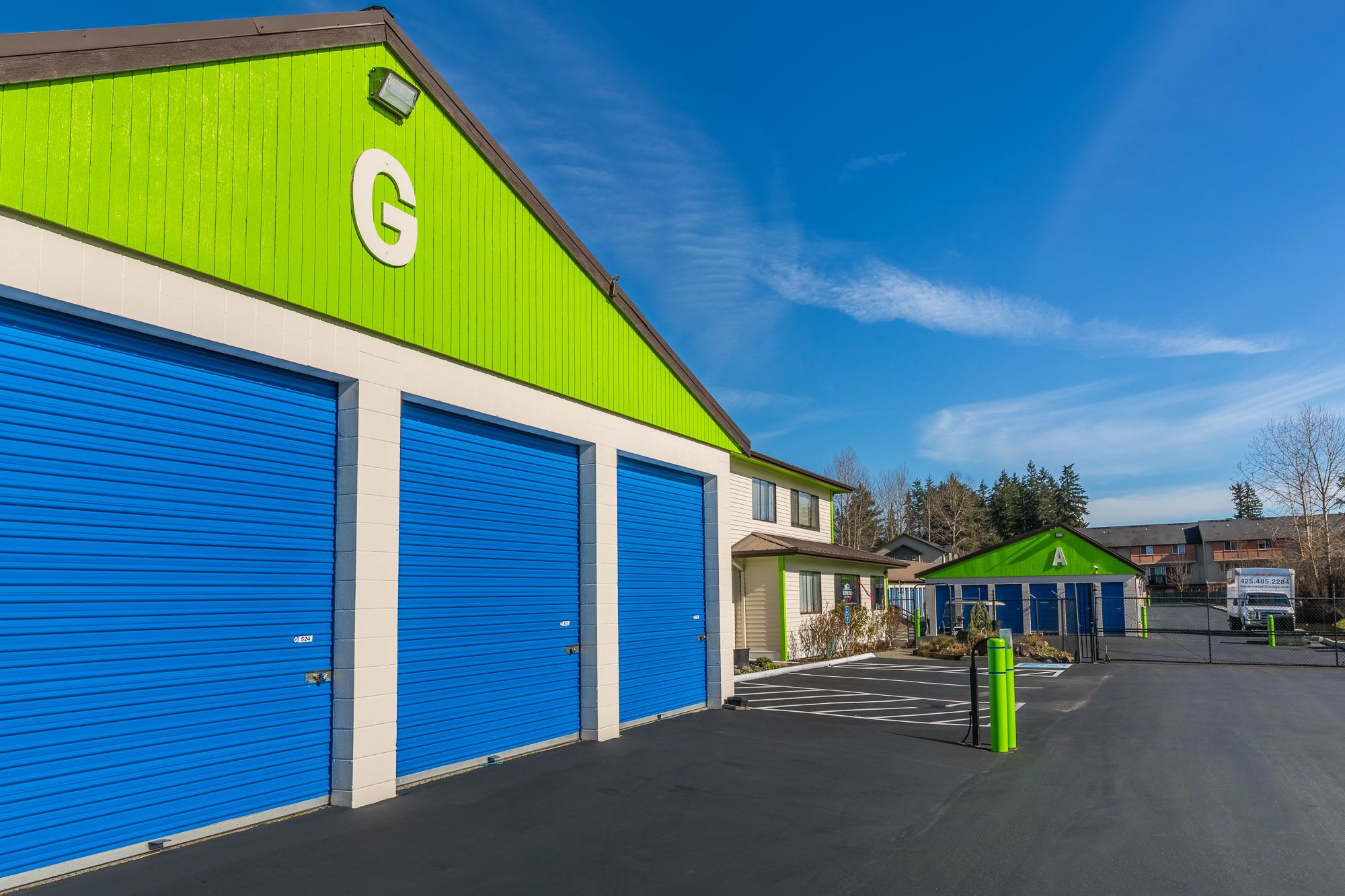 Self storage for all of your needs in Kenmore, WA