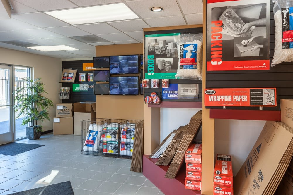Self storage supplies available for purchase in Marysville, WA