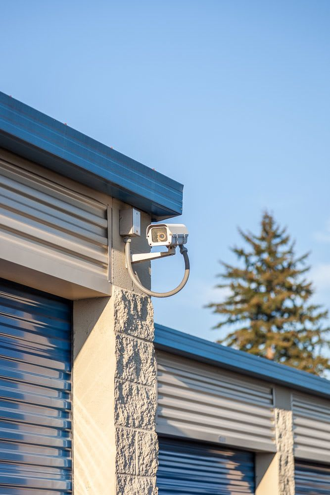 Security cameras to keep an eye on your self storage in Marysville, WA