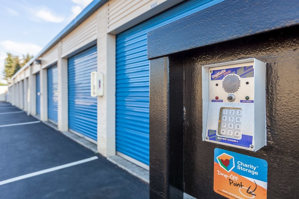 Keypad access to self storage in Marysville, WA