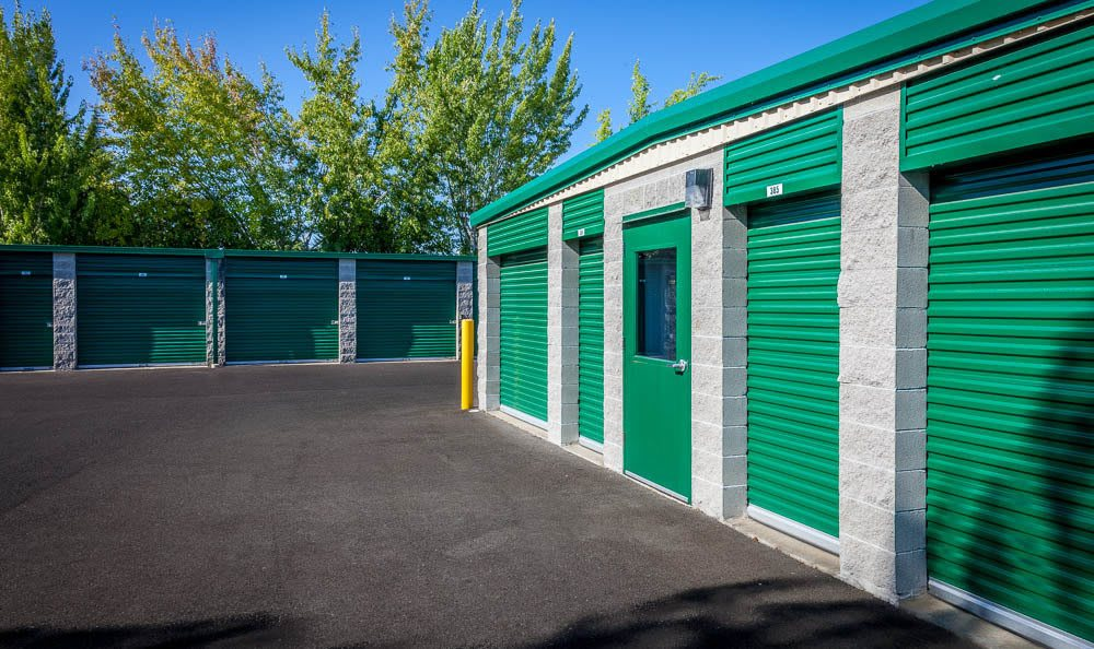 Our exterior self storage units in Auburn, WA