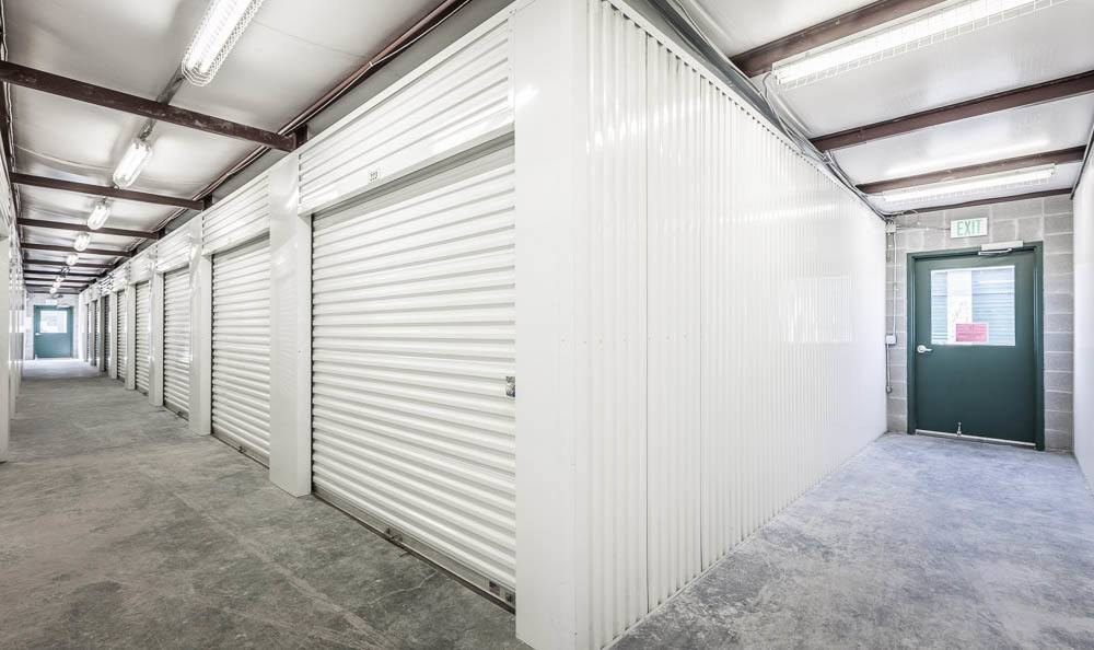 Interior storage at our self storage facility in Auburn