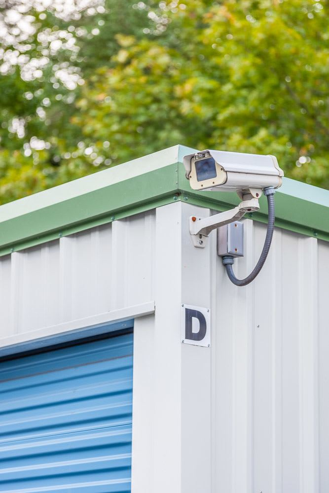 Exterior security camera to keep your self storage safe in Poulsbo, WA