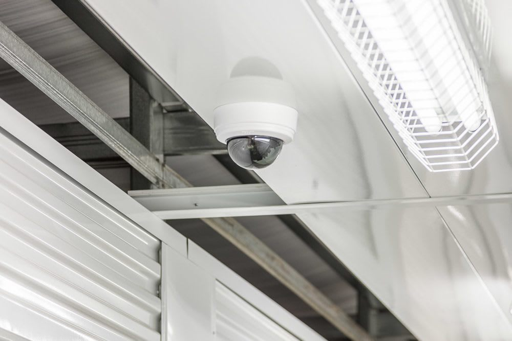 Interior security camera guards your self storage in Poulsbo, WA