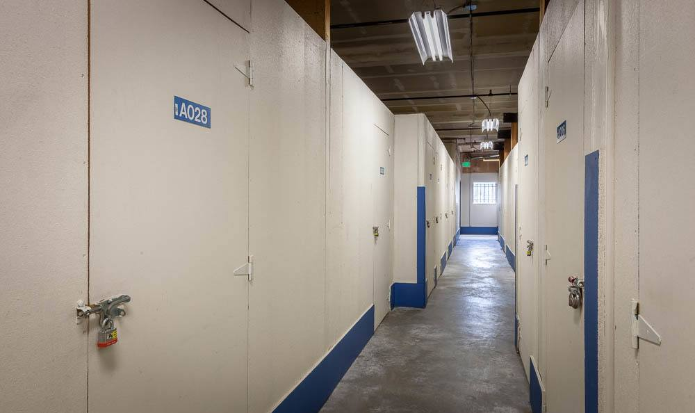 Seattle self storage facility has clean interior units