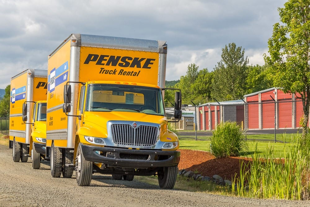 Rental trucks also available in Philomath, OR