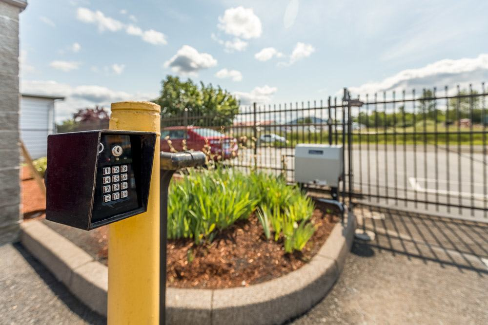 Keypad for secure entry to self storage units in Philomath, OR