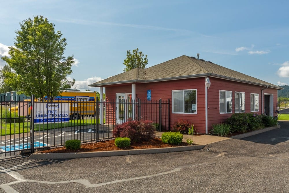 Self storage office in Philomath, OR