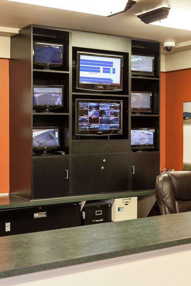 Security monitors keep an eye on your self storage in Yakima, WA