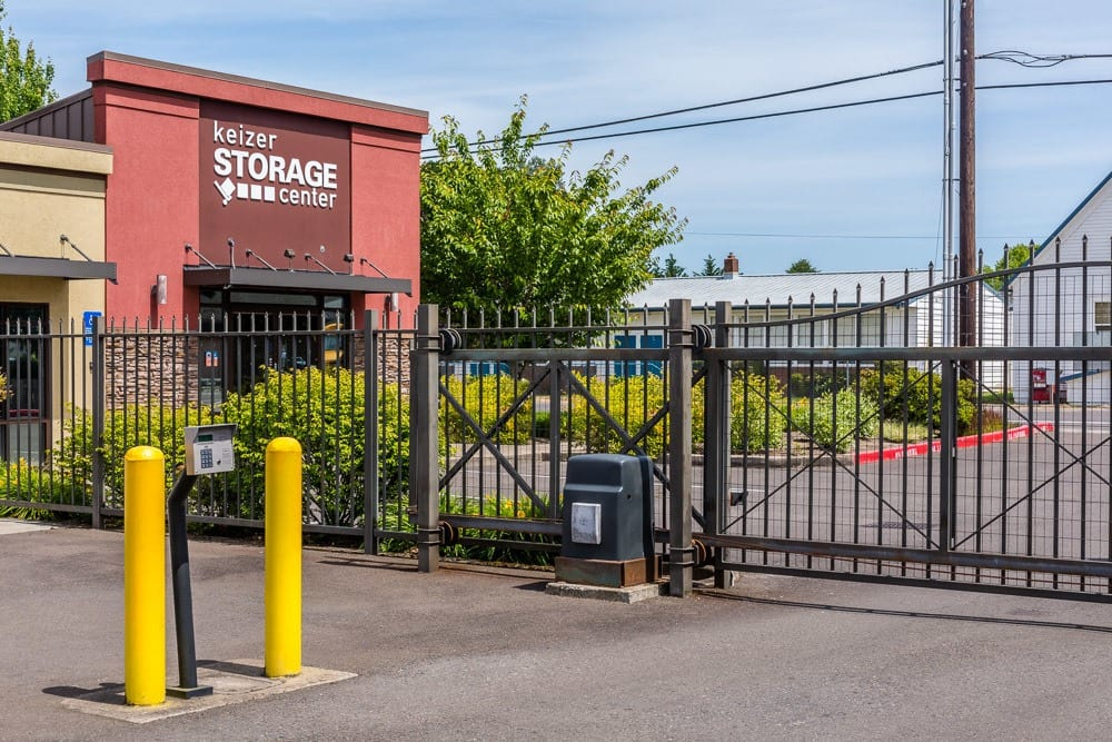 Beau ... Secured Gate To Keep Your Self Storage Safe In Keizer, OR ...