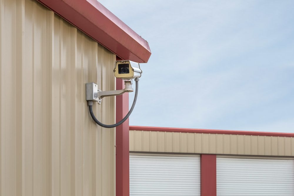 Exceptionnel ... Exterior Security Cameras At Self Storage In Keizer, OR.