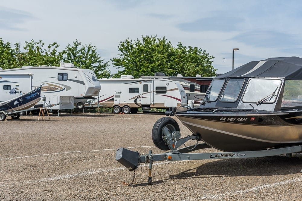 Boat and RV storage in Keizer, OR